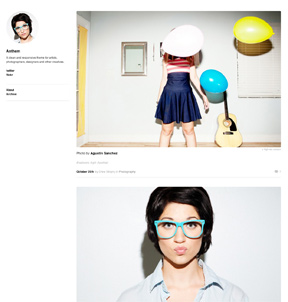 Anthem WordPress theme