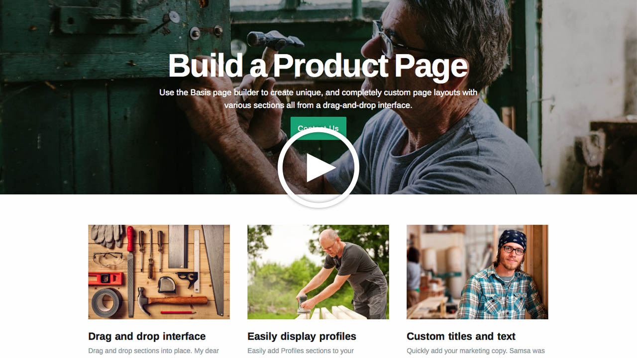 Introducing Basis: Your new business theme
