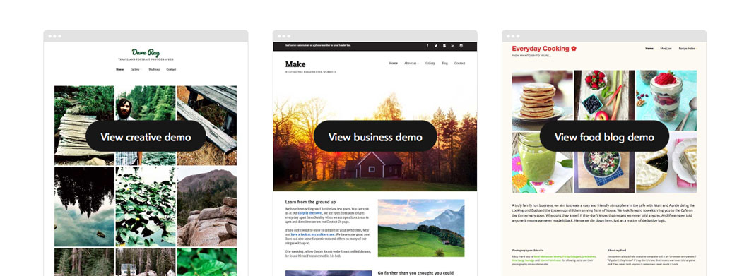 make and make plus the theme foundry