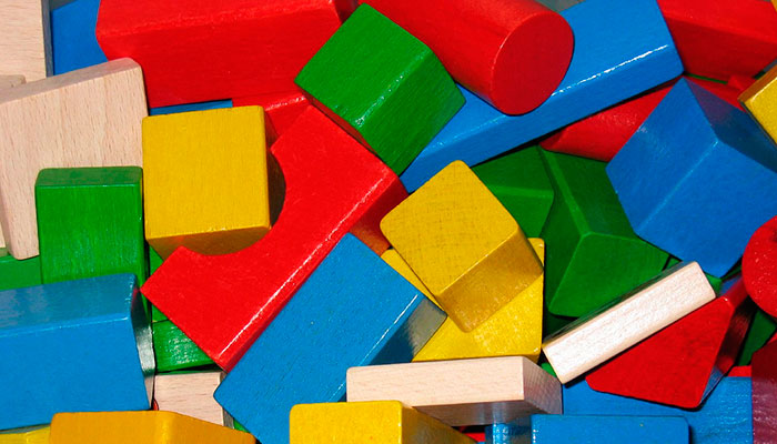 Building blocks of responsive website design