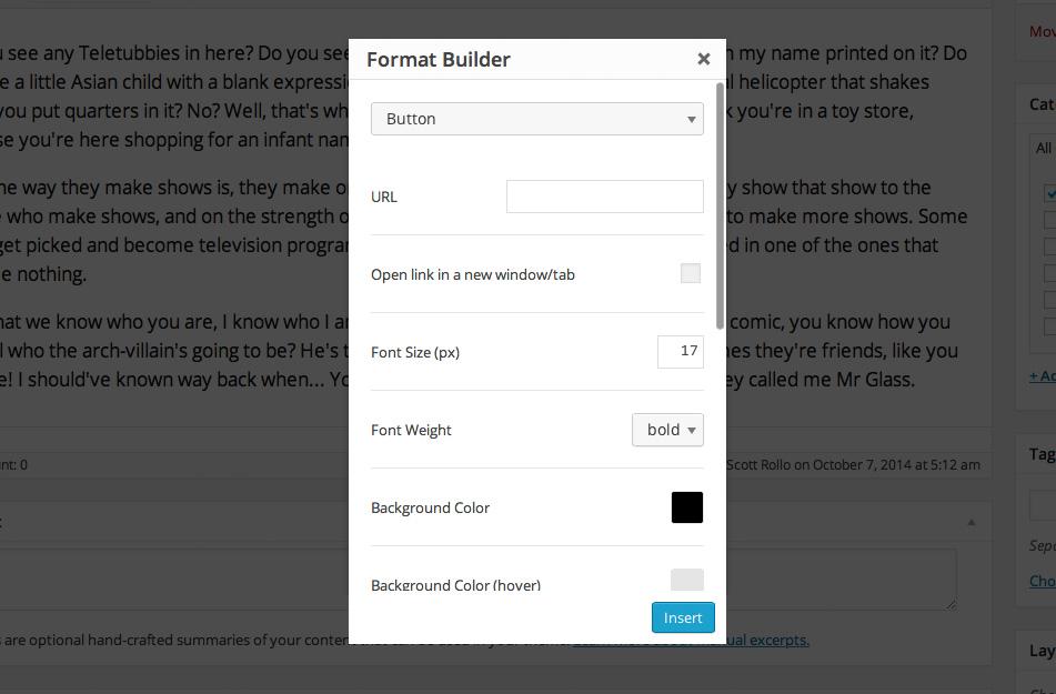 Make Format Builder