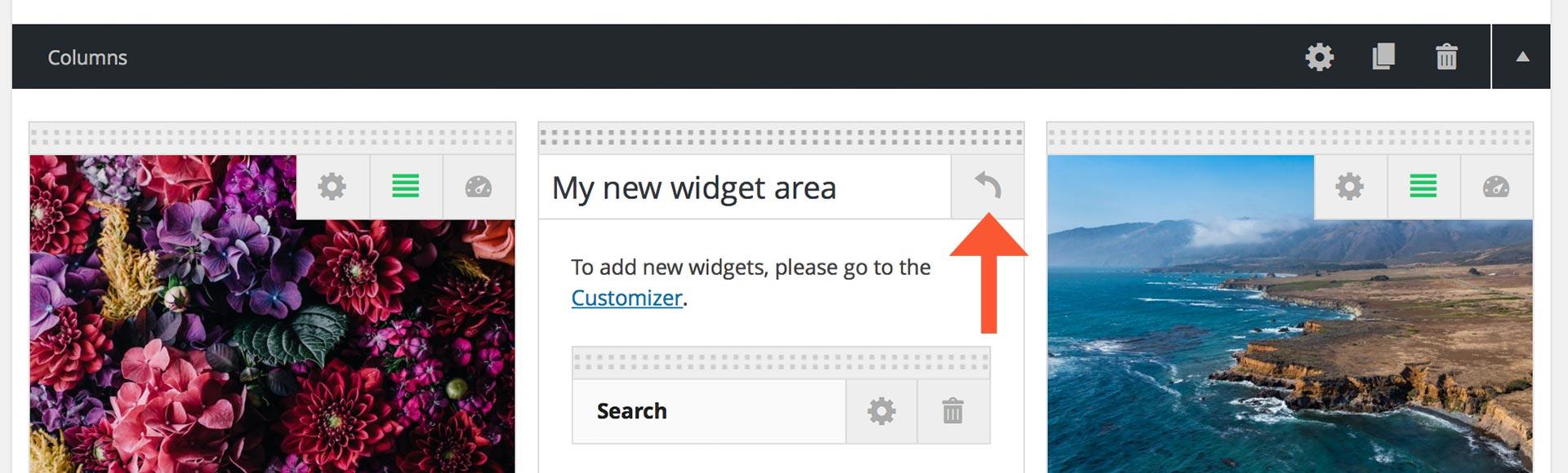 revert-widgets-columns