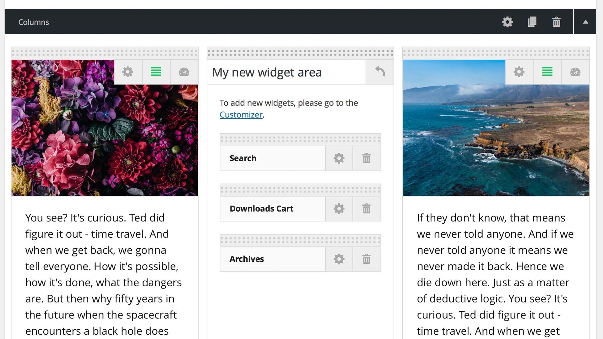 widgets-columns