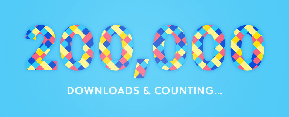 200k Downloads of Make!