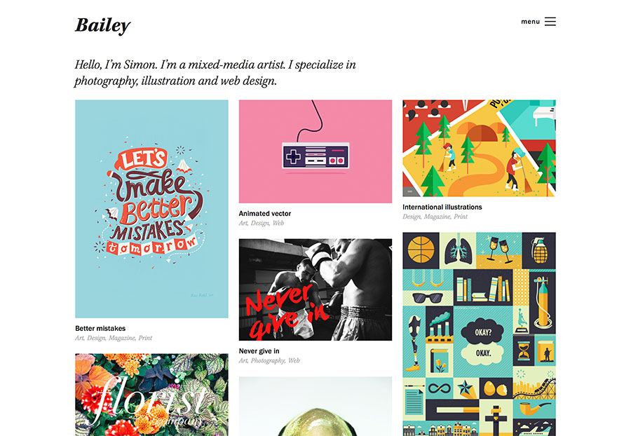 Bailey for WordPress.com