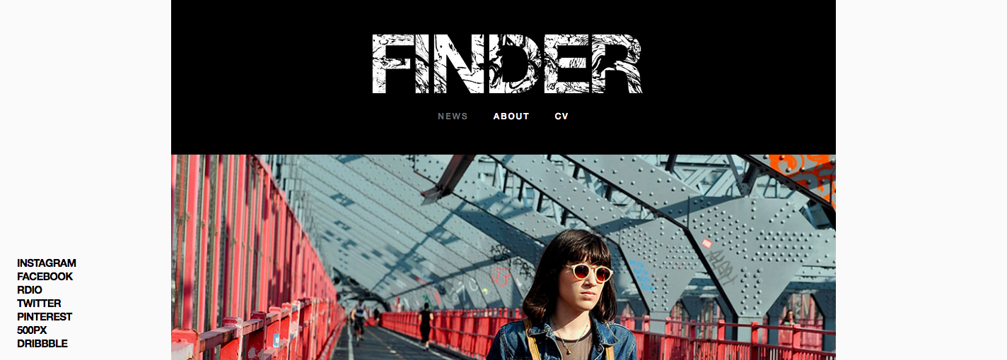 Finder theme for WordPress.com