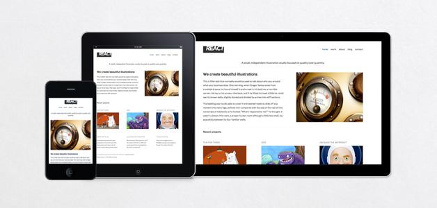 React WordPress Theme