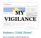 Activate the Child Theme